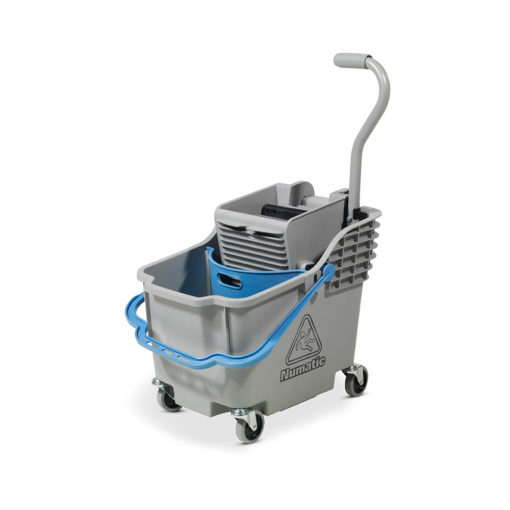A dual compartment mopping unit with a unique parabolic separator. Capacity 18/12L , 30L. Color coded separator & handle